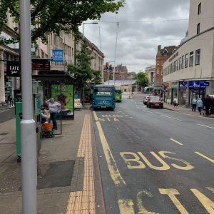 Bus Stop Near City Nails And Beauty In Nottingham 2