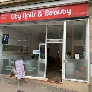 City Nails & Beauty Nottingham Shop Front