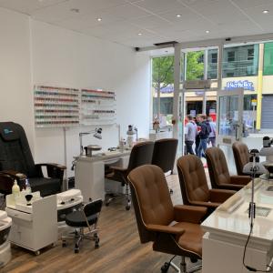 City Nails & Beauty Nottingham Interior
