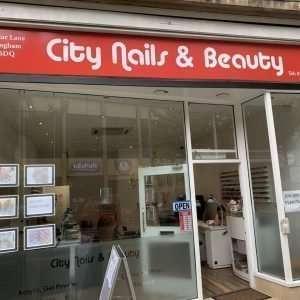 City Nails And Beauty Nottingham Shop Front