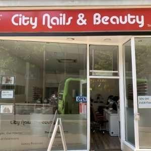 City Nails & Beauty Salon Nottingham Shop Front 3